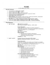 Cover Letter Experienced Resume Format Experienced Software