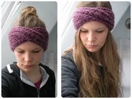 Knitted Headband Pattern Enchanting Free Pattern Knit Turban Headband Vinaknits