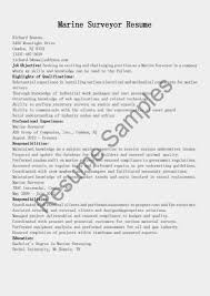 Marine Surveyor Resume Free Resume Example And Writing Download