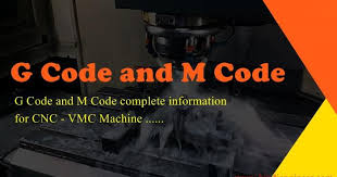 G Code Reference Chart G Code M Code Complete Information Of Cnc Vmc Program