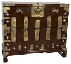 korean bandaji antique style blanket chest