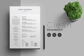 13 Photoshop Illustrator Indesign Resume Templates To Download