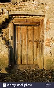 very old door of a very old building