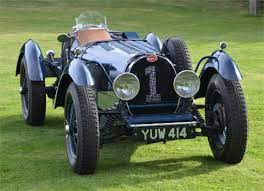 These 2 cars are in mint condition. Teal Bugatti Type 59 Sold Kult Kars