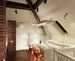 Idee Dipingere Mansarda : Cucina per mansarda canlic for