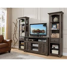 E Alois 3 Piece Distressed Gray Wood Rustic 55