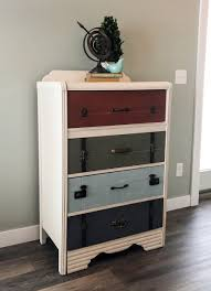Suitcase Nightstand how to build suitcase dresser home inspirations design 5719 by guidejewelry.us