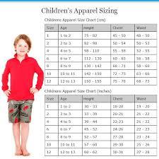 Children S Size Chart Australia 48 Hand Picked Australian Baby Clothes Size Chart