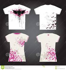 T Shirt Design For Drawing Tshirt Design Stock Vector Illustration Of Plant Leaf