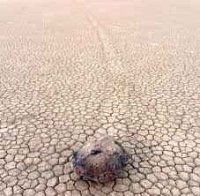 Gesteinsbrocken wandern wieder ...