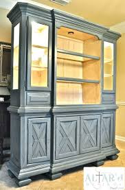 before and after china hutch makeover custom painted tuscan cabi in style cabinet pictures collection