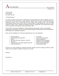Cover Letter Example Resume Cover Letter Body Examples