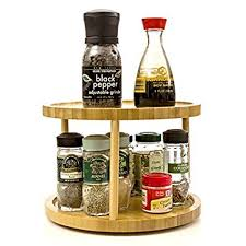 Organic Spice Rack Classy Amazon Turning Shelf 32 Tier For Kitchen Spice Rack Spice Holder