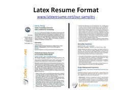 How To Write A ResumeNet Best Latex Resume