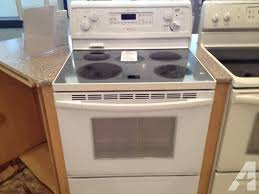 electric range kitchen appliances for in tacoma washington and stoves ranges and refrigerators kitchen classifieds page 4