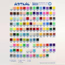 R01 R10 R 5mm 1000p Single Pack Soft Midi Artkal Beads