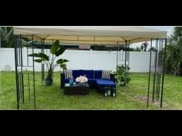yitahome outdoor canopy gazebo match