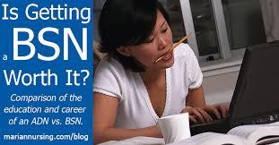 Adn Vs Bsn Is Getting A Bsn Worth It Marian University Absn Blog