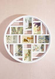 Round Here Frame in White