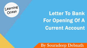 Learning Ocean Letters To Bank How To Write A Letter To Bank For