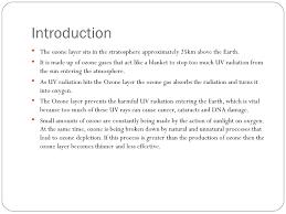 presentation on ozone depletion presentation on ozone depletion 2