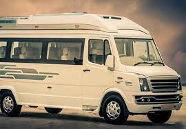 12 seater tempo traveller hire 12