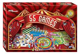 Набор <b>настольных игр Step puzzle</b> 55 лучших игр мира