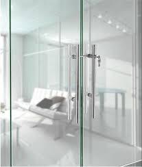 how do fix the loose glass door handle