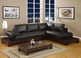 Modern Black Living Room Furniture Living Room Leather Sofa Ideas Snsm155com