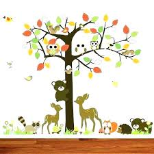 woodlands wall decals forest animals wall decals to unique woodland creatures wall decals animals nursery forest