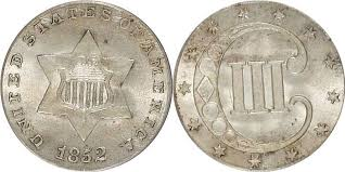 3 Cent Piece Value Chart Silver Three Cent Price Charts Coin Values