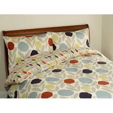 retro fl designer orla kiely style bedding set