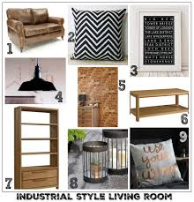 Industrial Living Room Design Solid Oak Furniture For A Modern Industrial Living Room Fresh