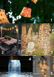 Outdoor lighting ideas diy Patio Diy Outdoor Lighting For Your Backyard The Multitasking Woman 10 Chic Diy Outdoor Lighting Ideas For Your Backyard The