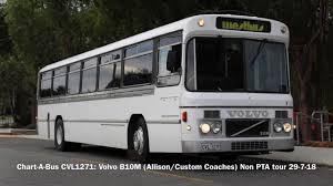 Chart A Bus Chart A Bus Cvl1271 Volvo B10m Allison Custom Coaches
