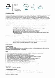 Private Chef Resume Sample Best Of Chef Resume Template Free] Chef Resume  Template 11 Free Samples