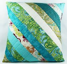71 best Cushion covers images on Pinterest | Cushions, Quilted ... & Patchwork Pillow, Quilted Pilllow Cover, Throw Pillow, 16 x 16 Pillow Sham,  Blue Green Aqua, Decorative Pillow, Accent Pillow Adamdwight.com