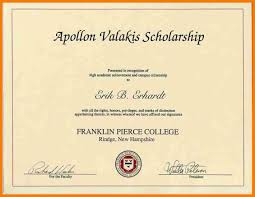 Scholarship Certificate Template Scholarship Awards Certificates Template Elegant 15 Formal