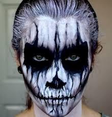 afbeeldingsresultaat voor skull facepaint