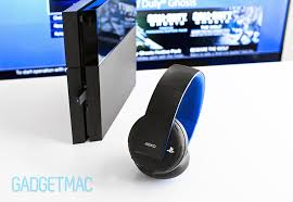 sony gold ps wireless stereo headset review gadgetmac sony gold wireless stereo headset hero jpg