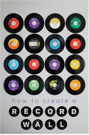how to create a record wall love