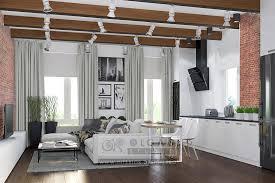 modern loft furniture. Loft Style Living Room Design Modern Furniture