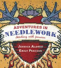 Emily Peacock Charts Adventures In Needlework Amazon Co Uk Jessica Aldred