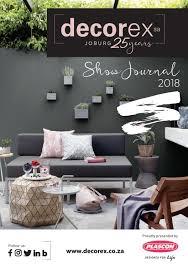 Design Joburg Exhibitors Decorex Joburg Show Journal 2018 By Decorex Sa Issuu