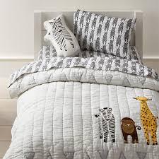 savanna toddler bedding zebra crate