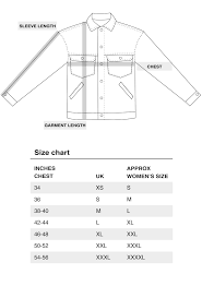 Lands End Jacket Size Chart Mens Long Sleeve Dress Shirt Size Chart Coolmine Community