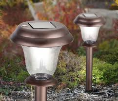 Top Rated Solar Path Lights Garden Beautiful Garden Lighting With Westinghouse Solar