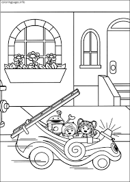 Small Picture Team Umizoomi Umicar Coloring Pages PDF Free Printable TEAM