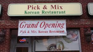 pick mix korean restaurant
