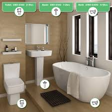 bathroom cost to install